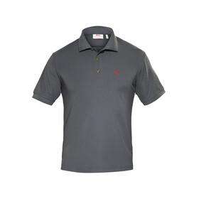 Fjällräven Crowley Piqué - Camiseta manga corta Hombre - gris